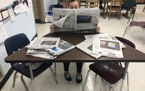 My week with print news