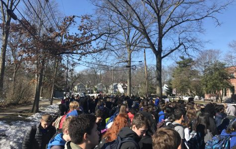 A disappointing 'student-led' walkout