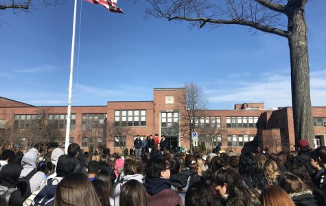 Students step outside for Parkland, school safety