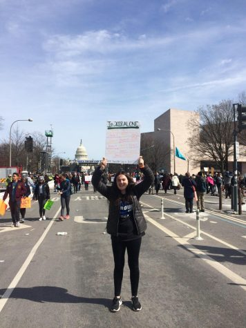 Reporter reflects on march in return to D.C.