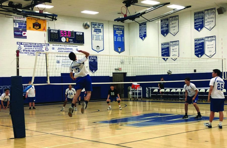 Catching up on boys volleyball