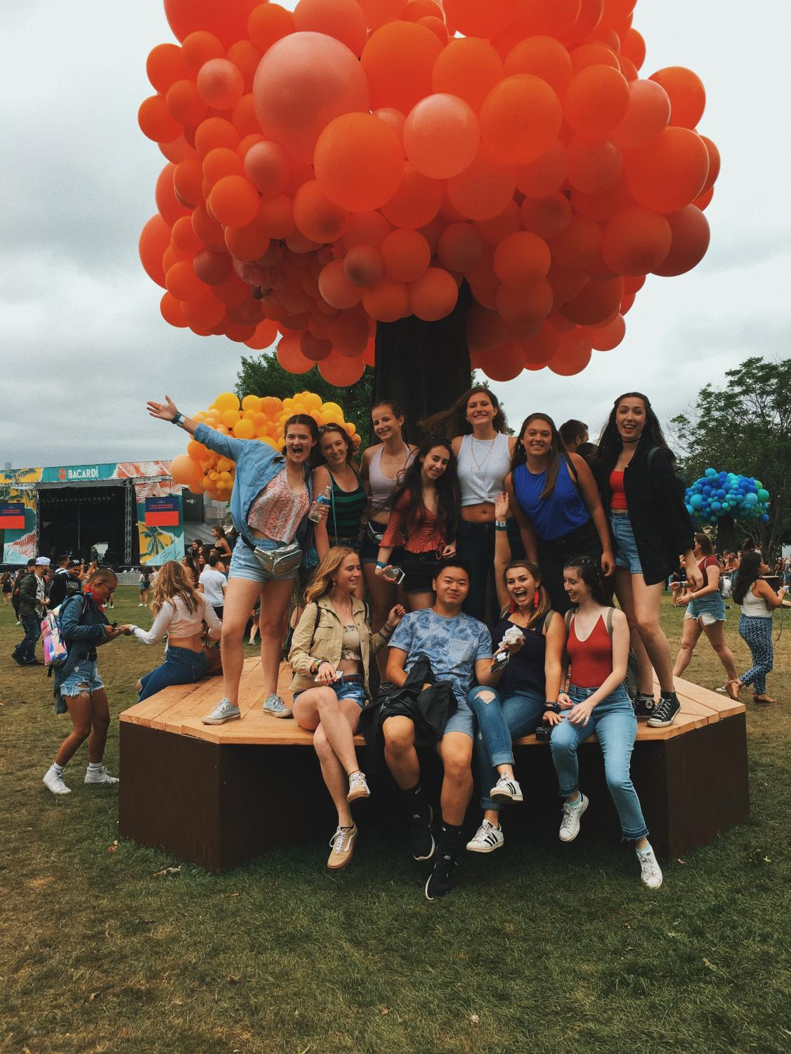 WHS students join the Gov Ball festivities.