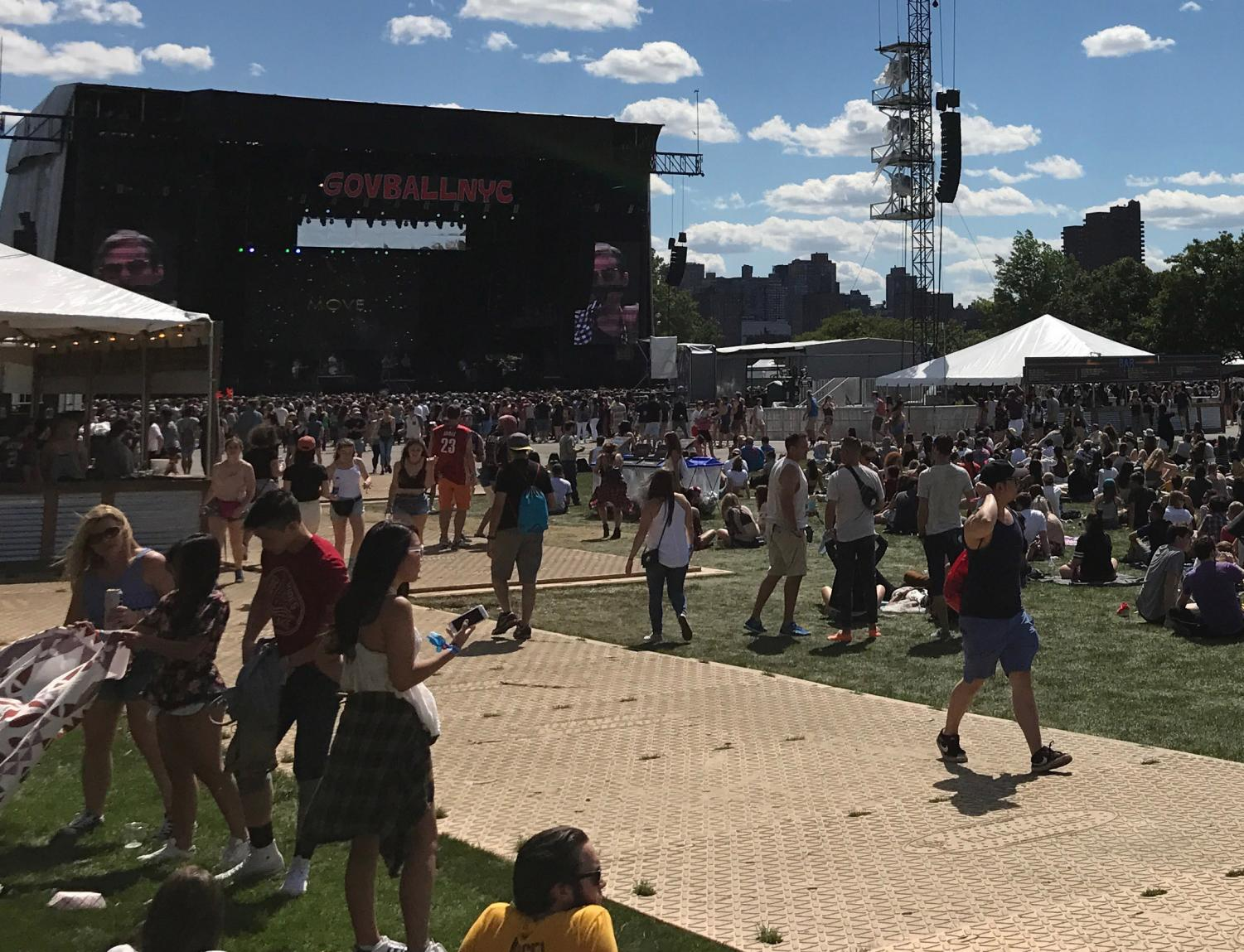 People from around the world enjoy the 2017 Governors Ball Music Festival.