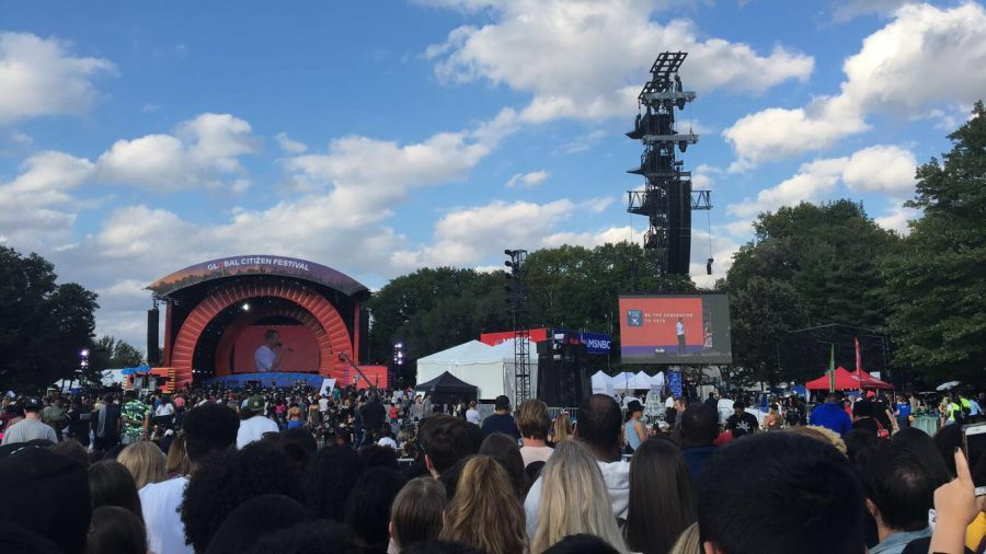 Global Citizen Festival nearly ends in disaster