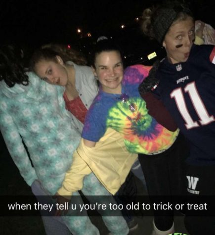 Teens should stop  boo-ing  trick-or-treating