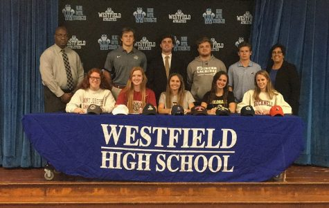 Nine WHS seniors sign National Letters of Intent
