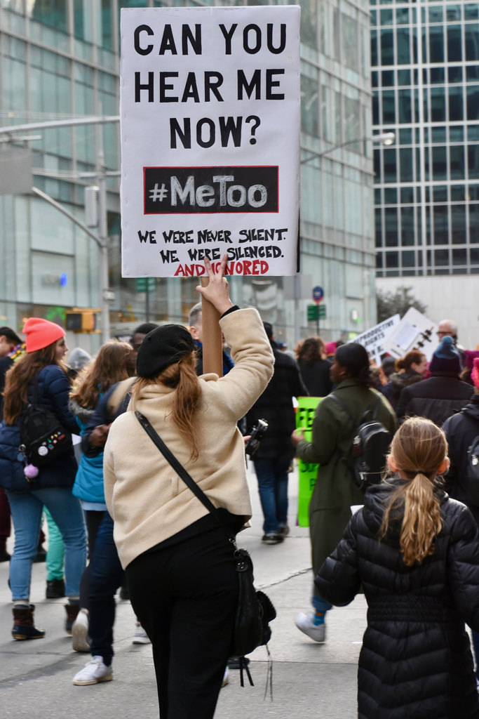 Thousands of women take to the streets to say #MeToo.