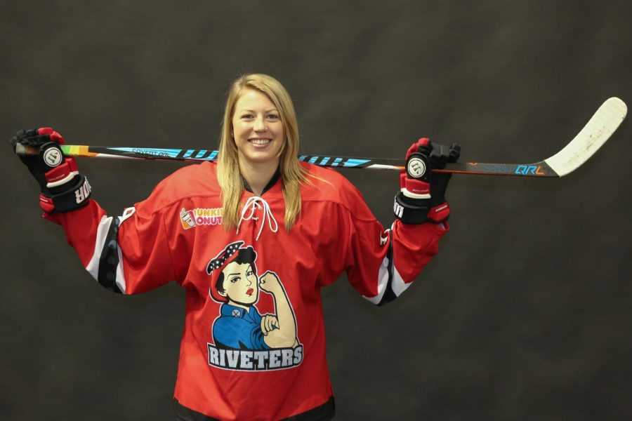 Former Westfield resident plays NWHL