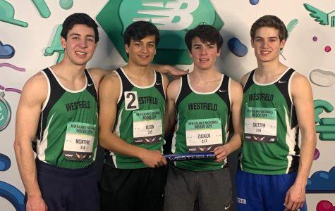 Boys 4×400 relay makes school history