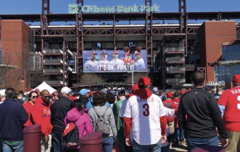 Philadelphia fanatics gather on Opening Day