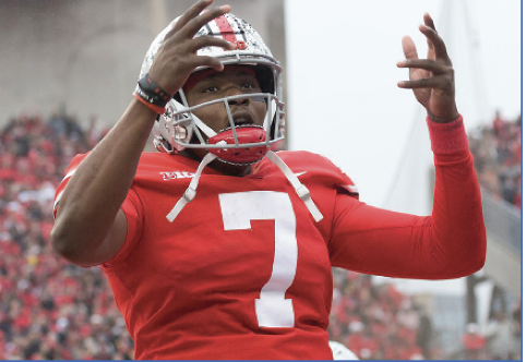 Dwayne Haskins was the 15th overall pick by the Washington Redskins.