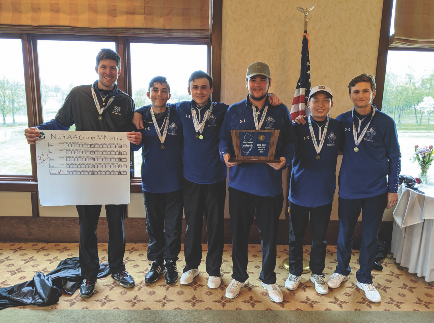 WHS golf team wins the sectional final