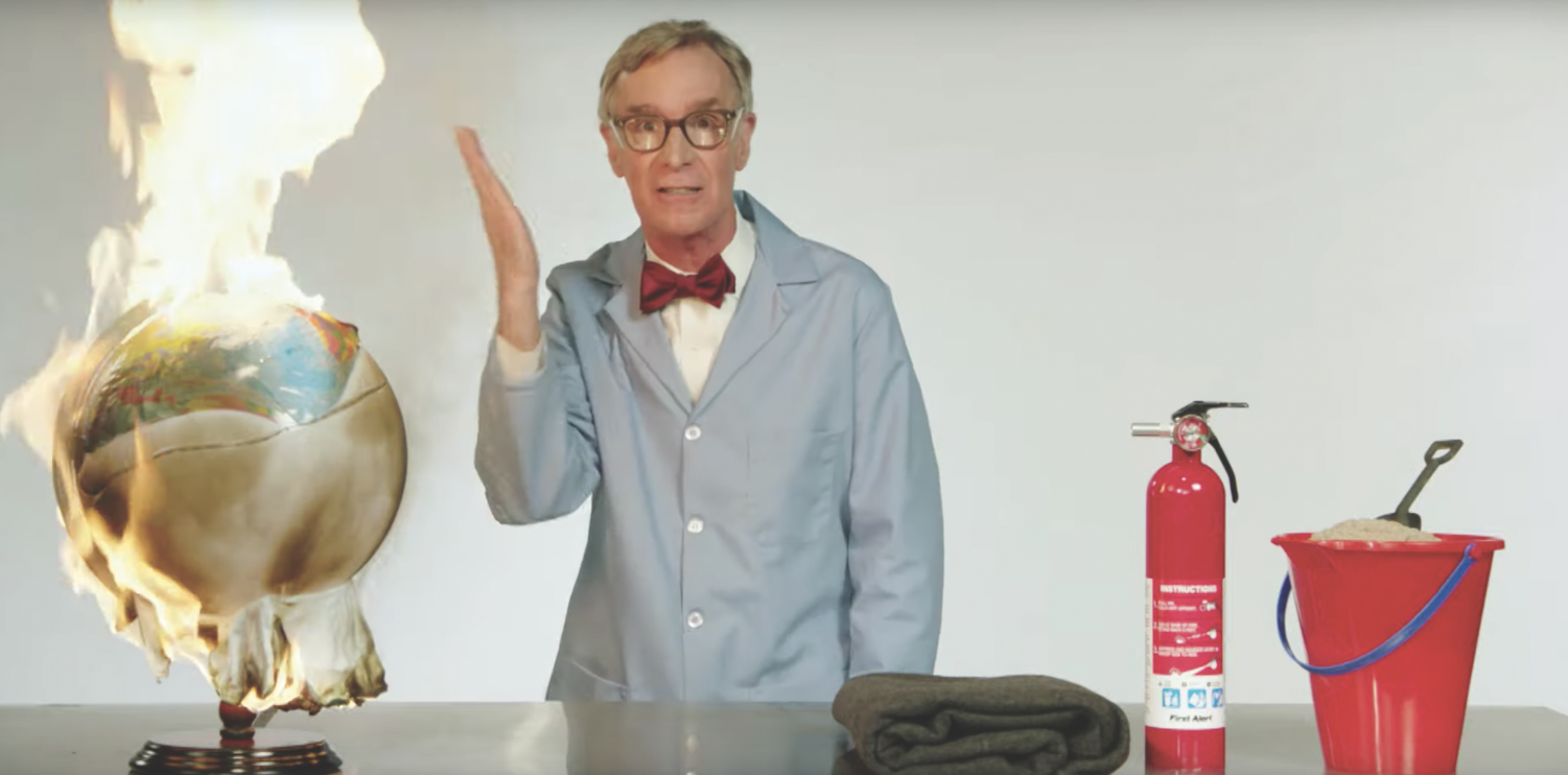 Bill Nye discusses climate change