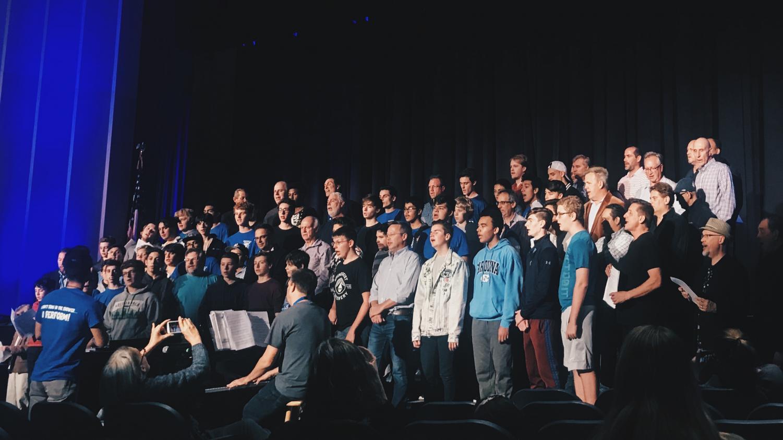 Guys Night of Singing performance