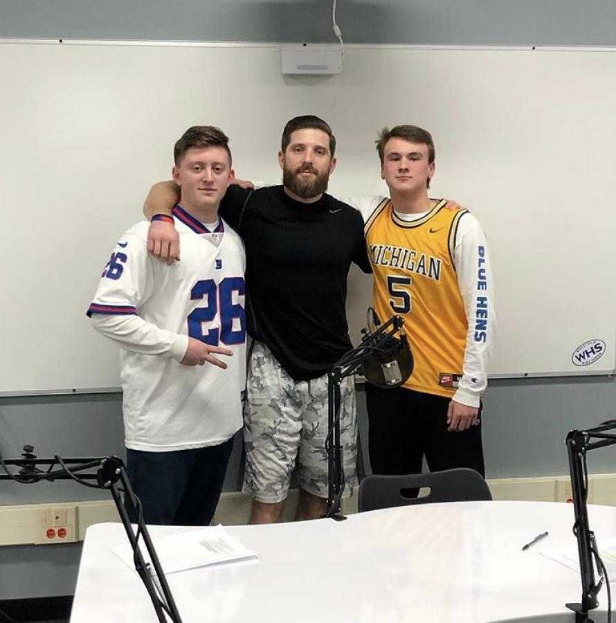 WHS+seniors+create+podcast