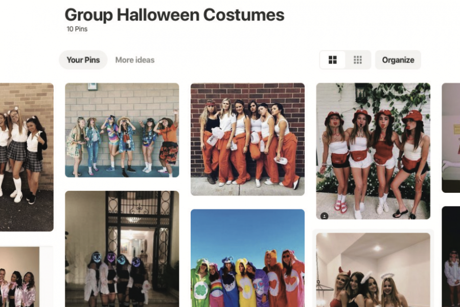 Pinterest board of group Halloween costumes