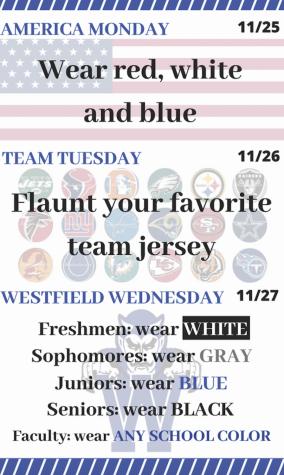 WHS spirit week