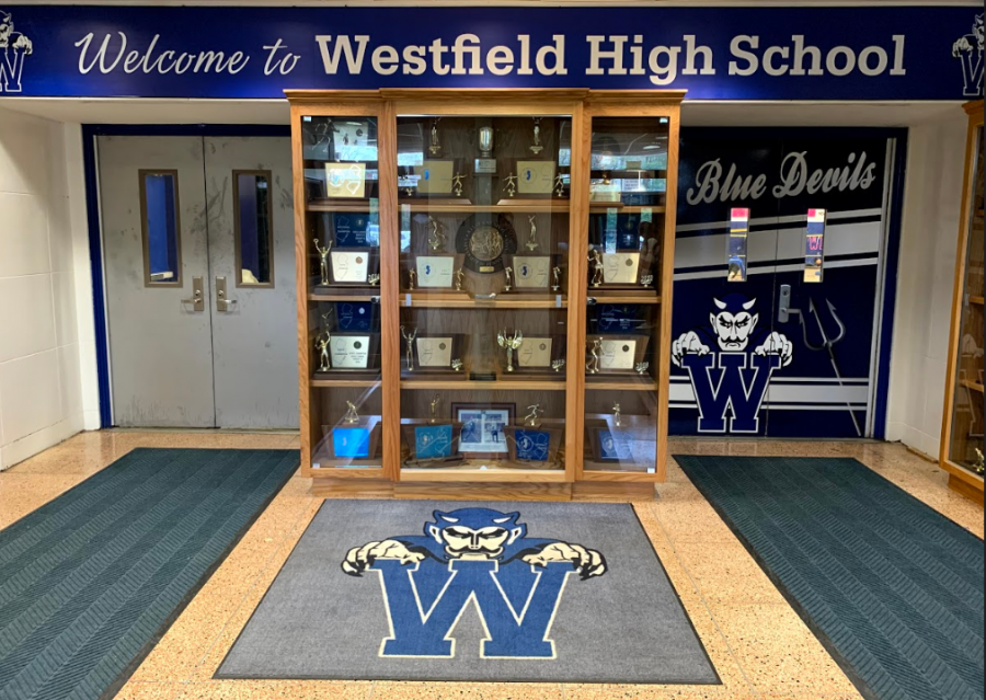 Booster-funded upgraded entrance to WHS gymnasiums