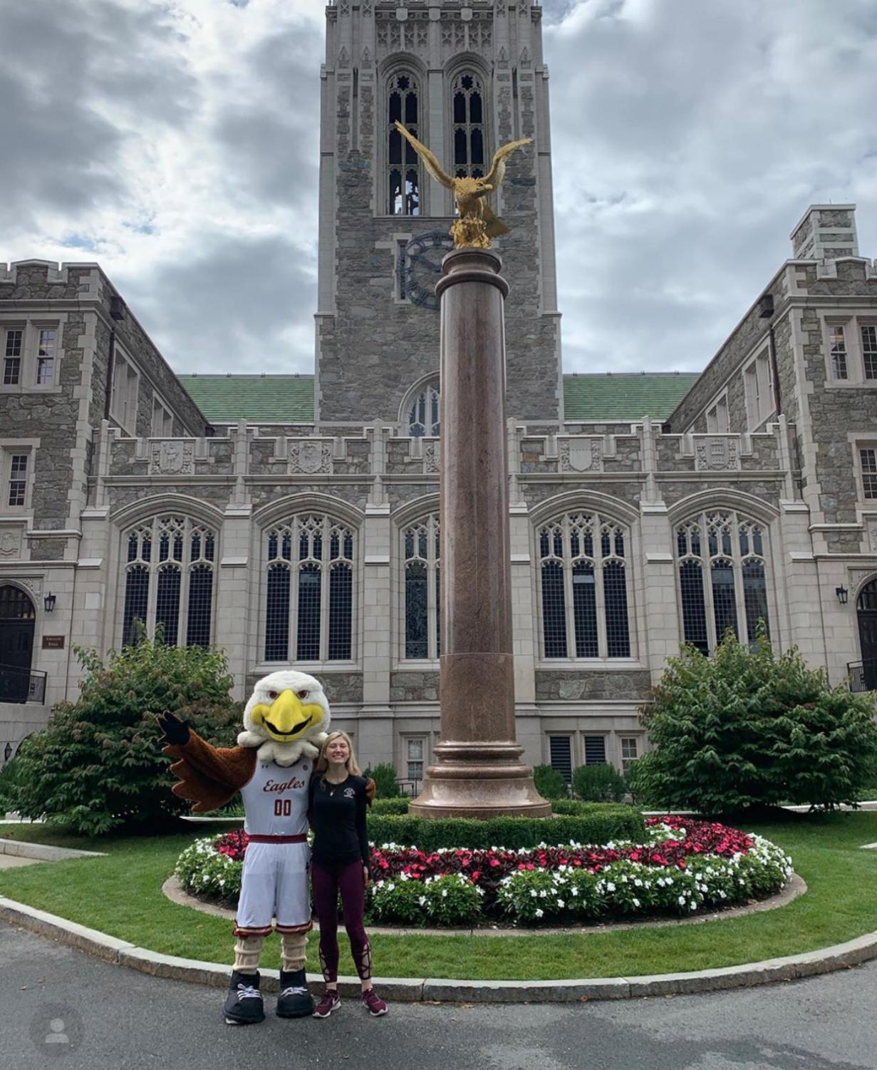 Oona Harrigan at Boston College