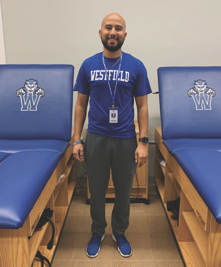 WHS+Athletic+Trainer+Steve+Barandica+was+recently+diagnosed+with+diabetes.