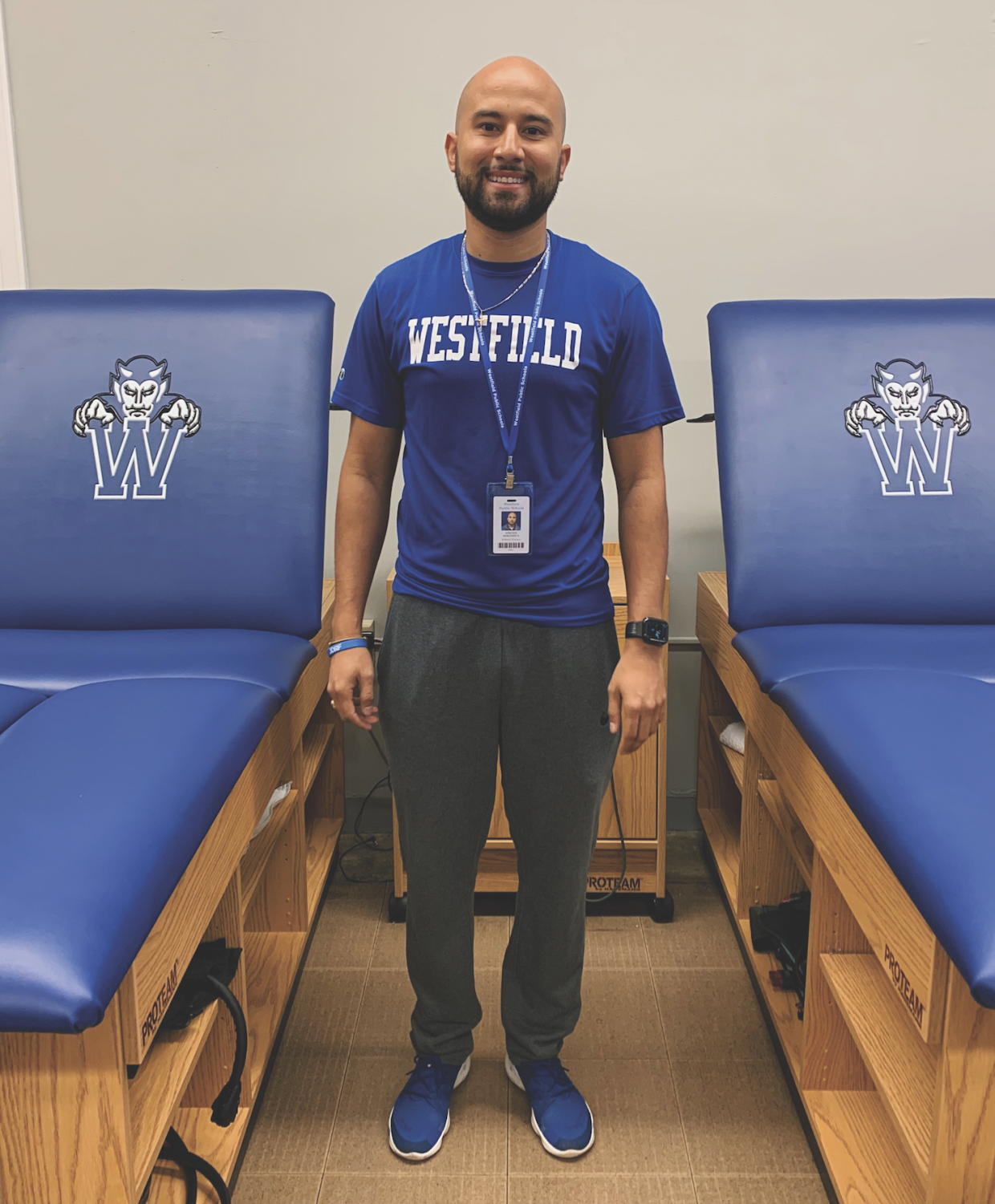 WHS Athletic Trainer Steve Barandica was recently diagnosed with diabetes.