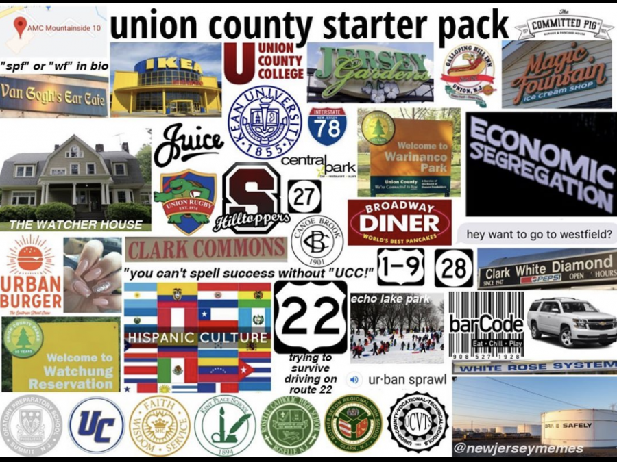 Union County starter pack from @newjerseymemes