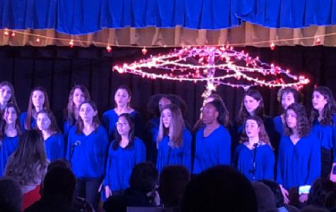 Blue Devil Treble singing at NOLS