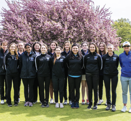WHS girls golf team