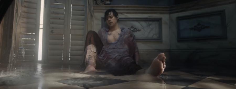 "Screengrab of ""Falling"" music video, by Abby Jarecki"