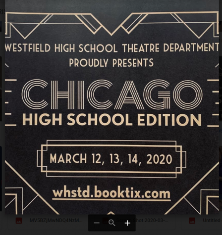 Chicago: High School Edition behind the scenes