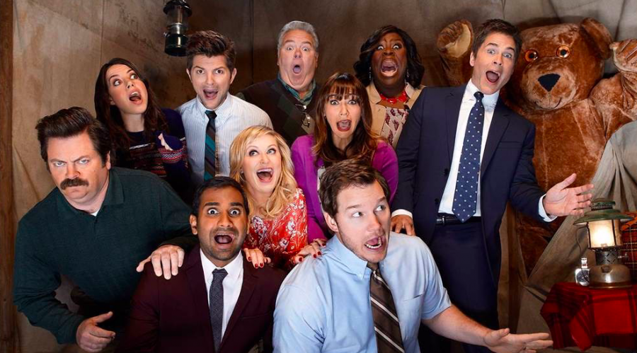 Some+of+the+characters+in+Parks+and+Recreation
