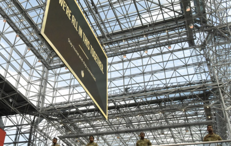 Image of the Javits Center on March 27