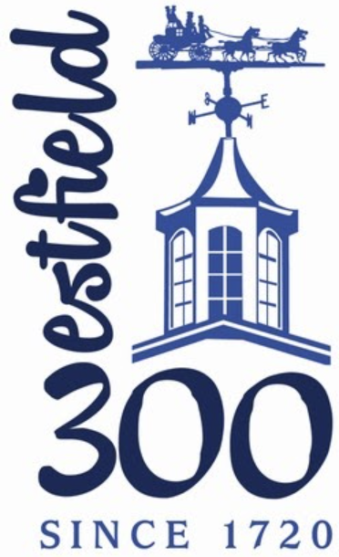 The logo for the Westfield 300 anniversary celebration.
