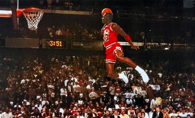 Michael+Jordan+flies+high+