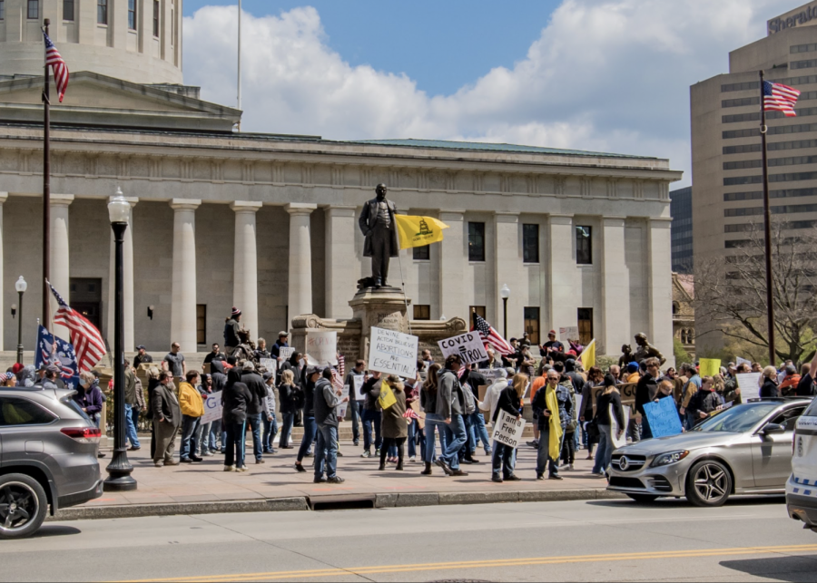 Recent protest in Wisconsin.
