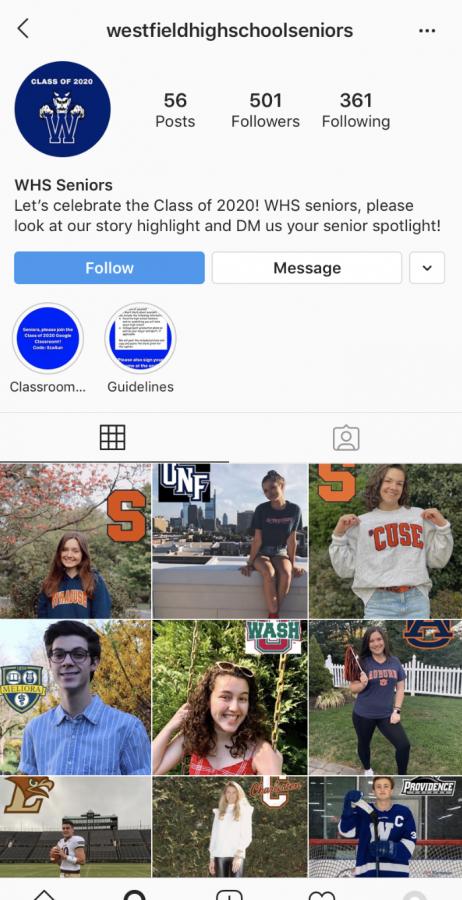 Screen+grab+of++WHS+seniors+Instagram.