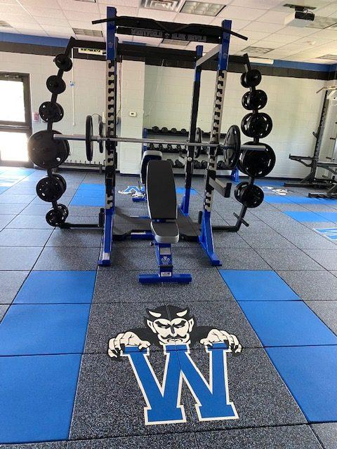 Kehler Stadium weight room