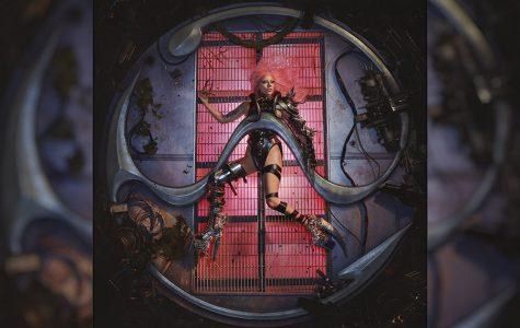 Lady Gaga's Chromatica album cover