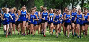 WHS Girls Cross Country Team