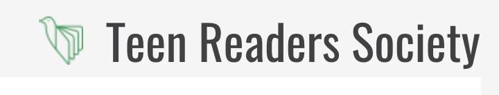 Teen Readers Society logo