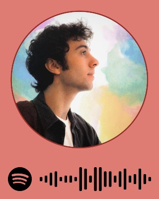 Open your spotify app and scan the code to listen to Zakharenko's music