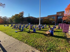 Student athletes lead protest at WHS