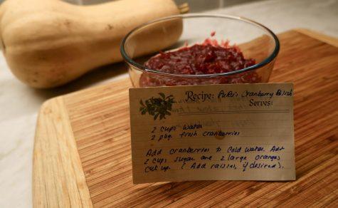RuRu's cranberry sauce
