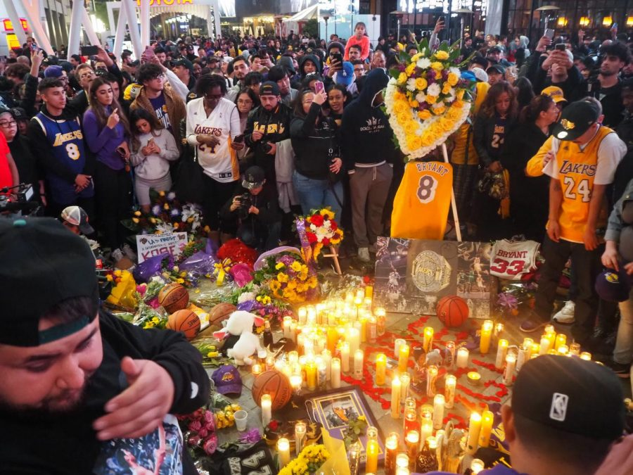 Sports — Kobe Bryant: On Jan. 26, tragedy struck the sports world when Los Angeles Lakers legend and basketball icon Kobe Bryant, and 10 other individuals including Kobe's 13-year-old daughter Gianna, passed away in a helicopter crash. The tragedy sent shockwaves through the NBA with players and coaches coming together to honor the legend by taking 8 and 24 (the two numbers Kobe wore throughout his career) second violations at the start of games. Kobe's passing also created a motivation for the Lakers, driving them to win the NBA championship on Oct. 12 when the Lakers defeated the Miami Heat in game six to win the title. Seeing the jubilation on the faces of the winning players is always special, however you could feel that the 2020 NBA championship meant more to the LA Lakers and to their fans after the tragedy they suffered in January.