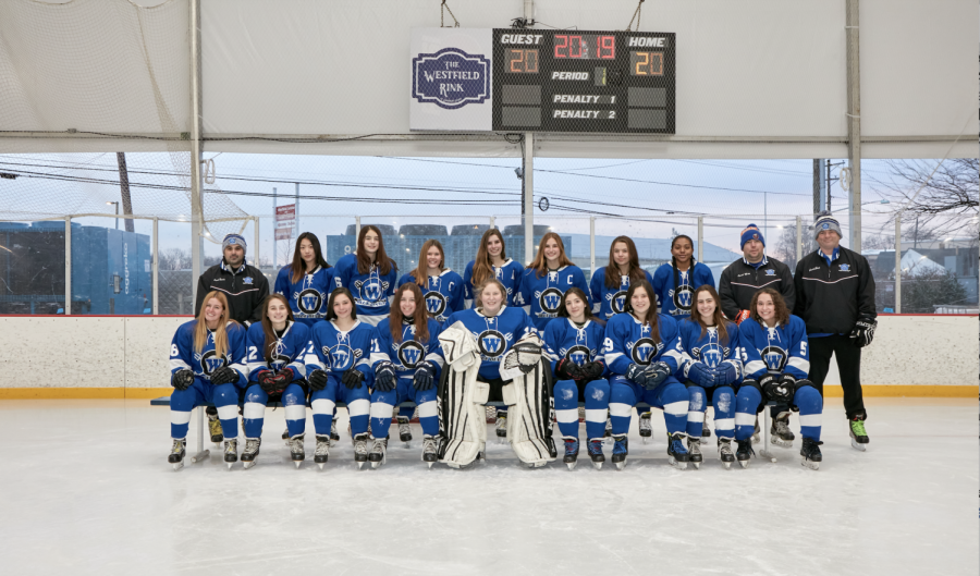 2019-20+girls+varsity+hockey+team