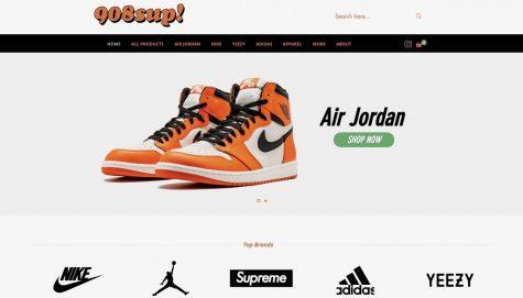 Screenshot of 908Sup website home page  https://www.908sup.com/