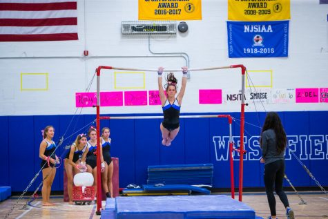 2019 varsity girls gymnastics competition