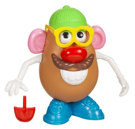 Photo of the original Mr. Potato Head