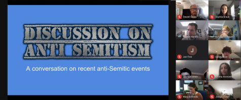 On Feb. 23, WHS students led an online discussion about anti-Semitism