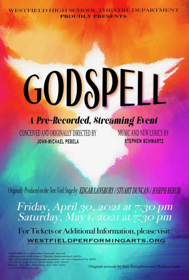 Godspell show poster